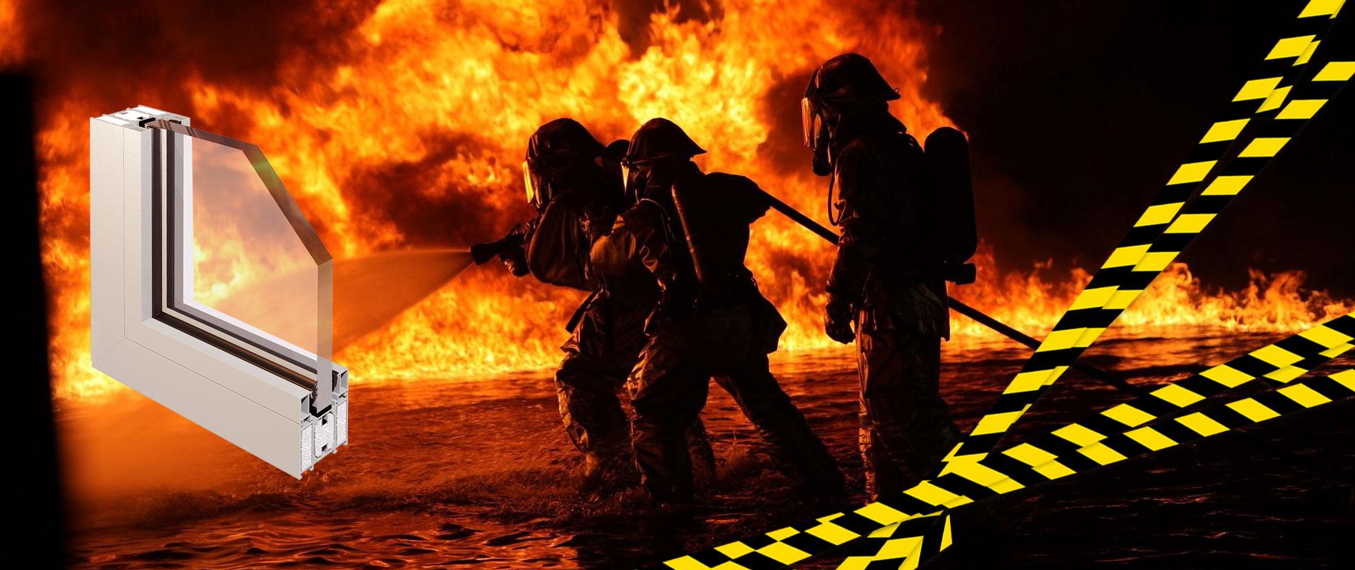 Противопожарные окна - Сургут.